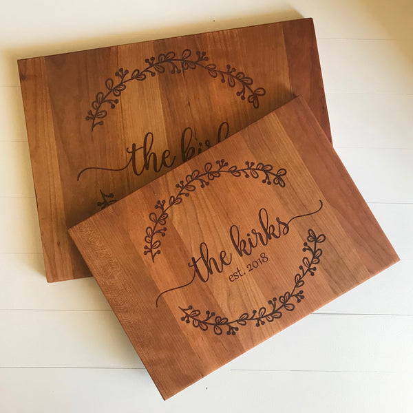 Laurel Cutting Board