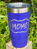 Custom Cups- Tumblers- small and large- Stemless wine glasses & Beverage Holders