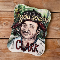 Artist Collection- Jennie Roles Walter- Ornament- Are you Serious Clark