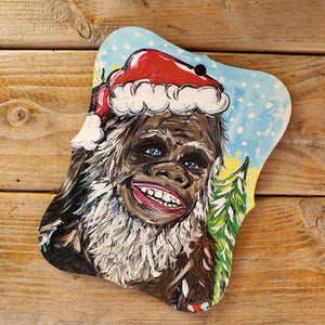 Artist Collection- Jennie Roles Walter- Ornament- Big Foot