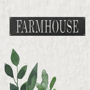 Modern Farmhouse in Metal