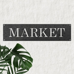 Modern Market in Metal