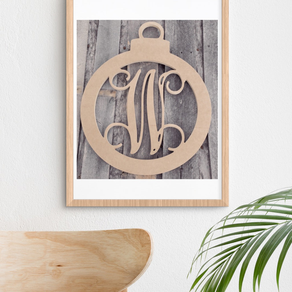 Ornament Single-Letter Monogram
