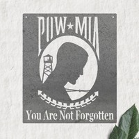 POW MIA Honor in Metal