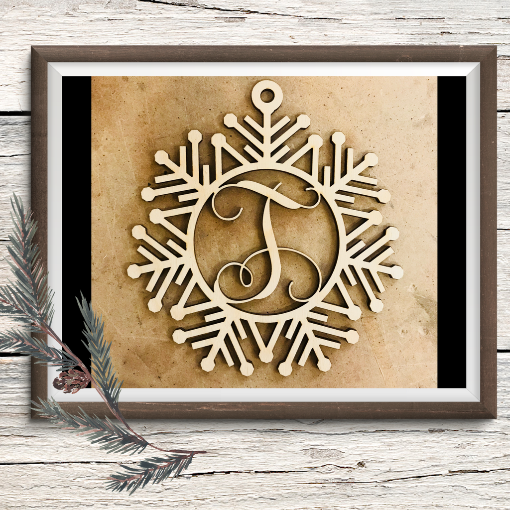 Detailed Snowflake Ornament