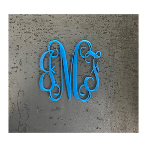Vine Three-Letter Acrylic Monogram