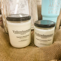 Yellowhammer Candle Co.- 100% Soy Candle - Fall/Holiday