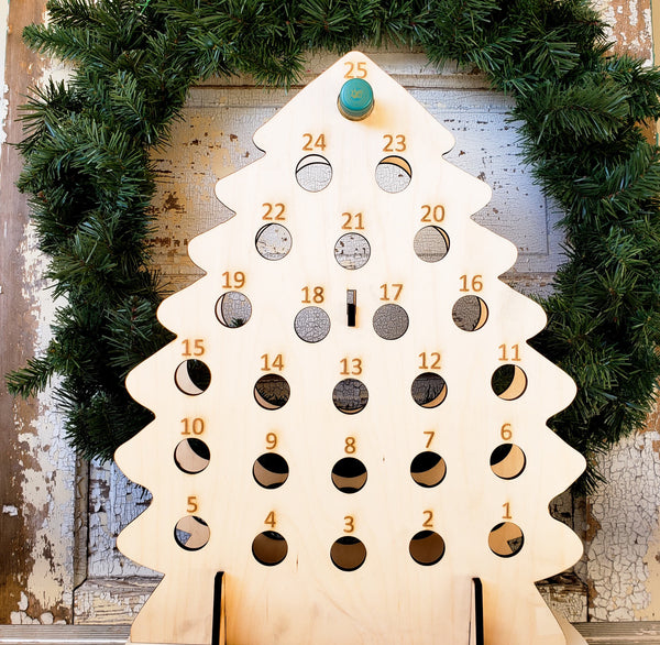 Wine Advent Calendar- Christmas Tree