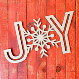 Wooden Words- Joy - Unfinished Wood Words -- 5.99 !!!!