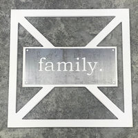 Barn Door Collection - Metal family