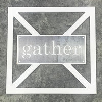 Barn Door Collection - Metal gather