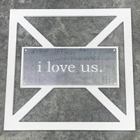 Barn Door Collection - Metal i love us