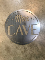 Man Cave in Metal