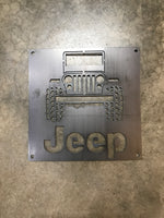 Jeep in Metal