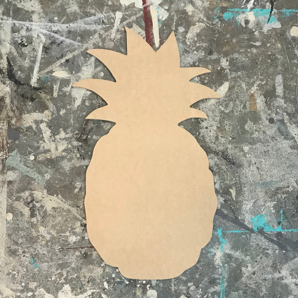Five Dollar Deals Wood Shape- Pineapple