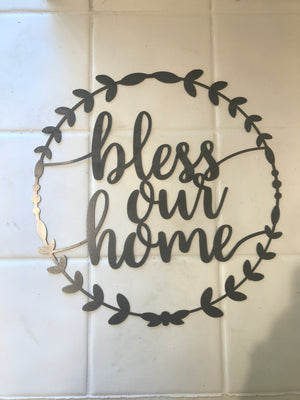 Bless our Home Wreath