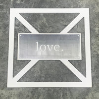 Barn Door Collection - Metal love