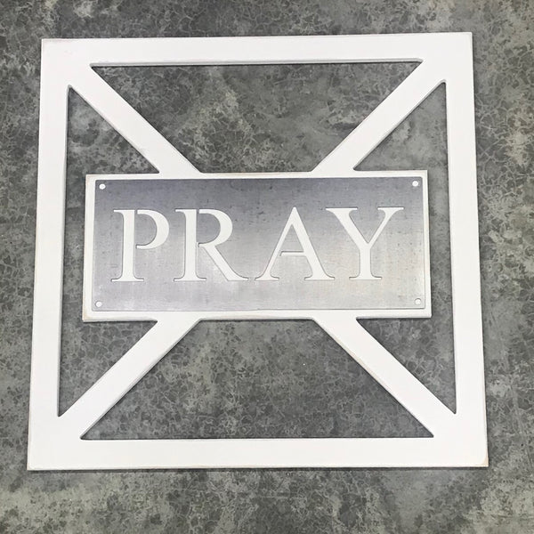 Barn Door Collection - Metal PRAY