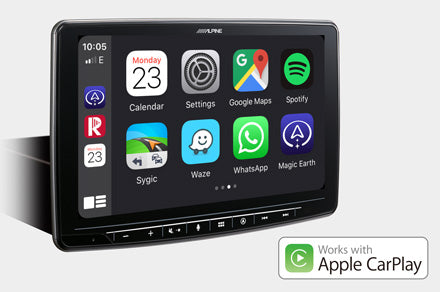 Kompatibel mit Apple CarPlay