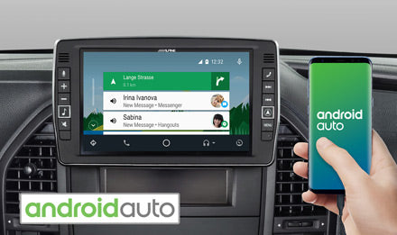 Works with Android Auto