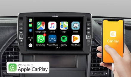 Works with Apple CarPlay