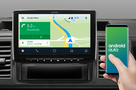 Online Navigation mit Android Auto