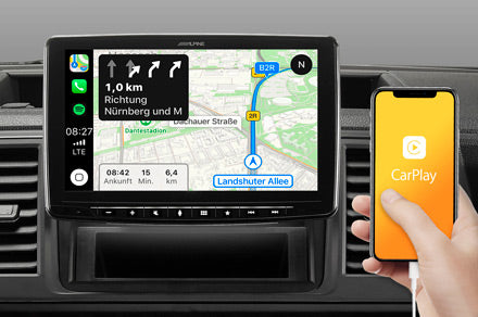 Online Navigation mit Apple CarPlay