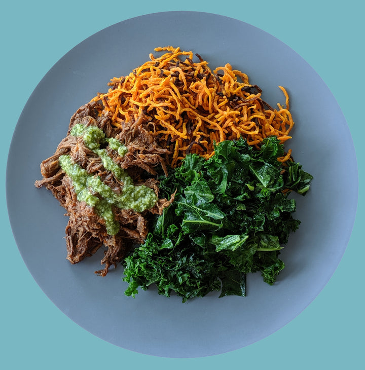 Braised Beef with Sweet Potato Noodles