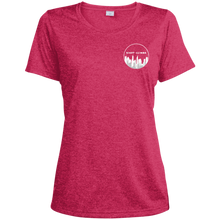 Load image into Gallery viewer, LST360 Sport-Tek Ladies' Heather Dri-Fit Moisture-Wicking T-Shirt