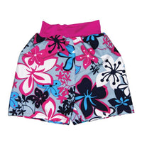 Calzón Happy Nappy Board Short Hibiscus Pink