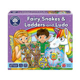 Juego de Mesa Fairy Snakes & Ladders and Ludo Orchard