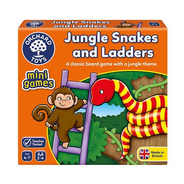 Juego de Mesa Jungle Snakes and Ladders - Orchard