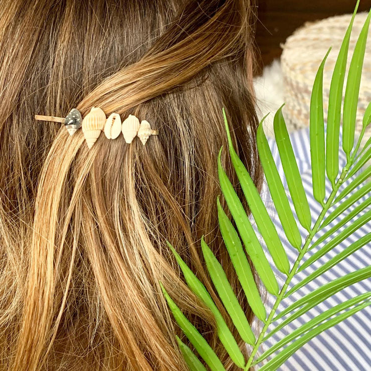 Shell Collector Hair Pins ~ Salty Hair