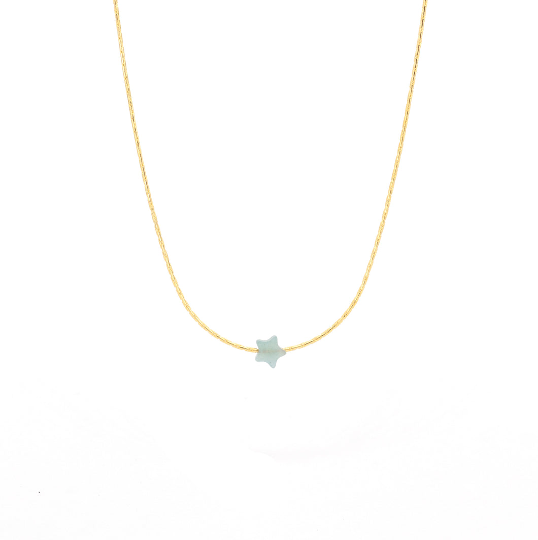 Amazonite Little Star ~ Blue