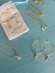 I Shine! Pink Necklace ~ Salty Pendants