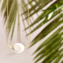 Load image into Gallery viewer, Shiva Shell Necklace