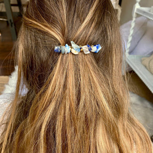 Ocean Waves Hair Pin ~ Salty Hair