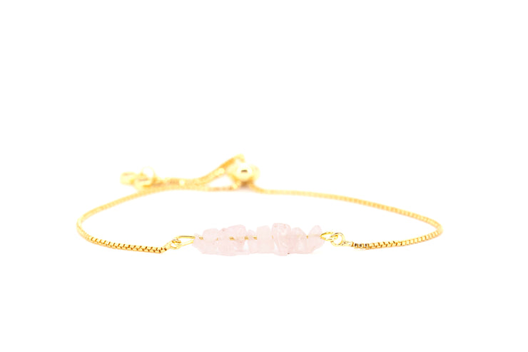 Rock Candy ~ Rose Quartz Bolo