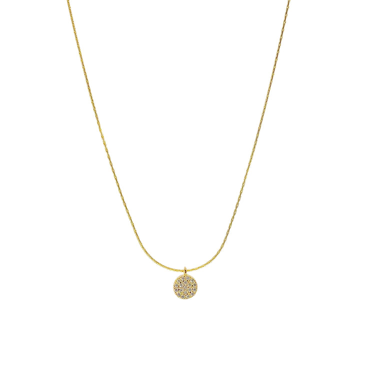 Salty cali- 360 necklace gold