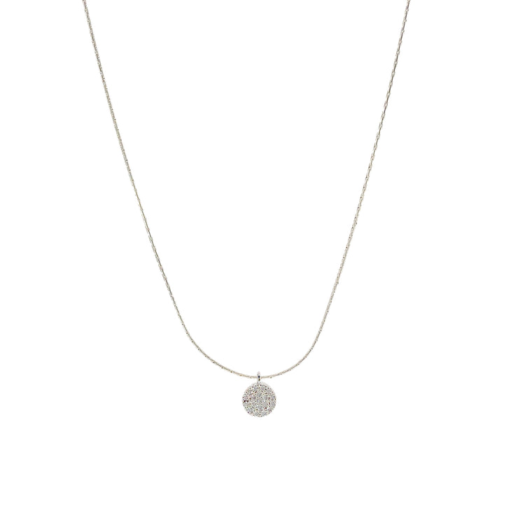 Salty cali- 360 necklace silver