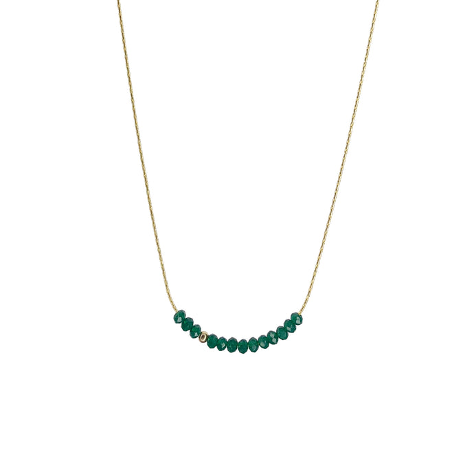 Sprinkle of Hope Necklace- Green