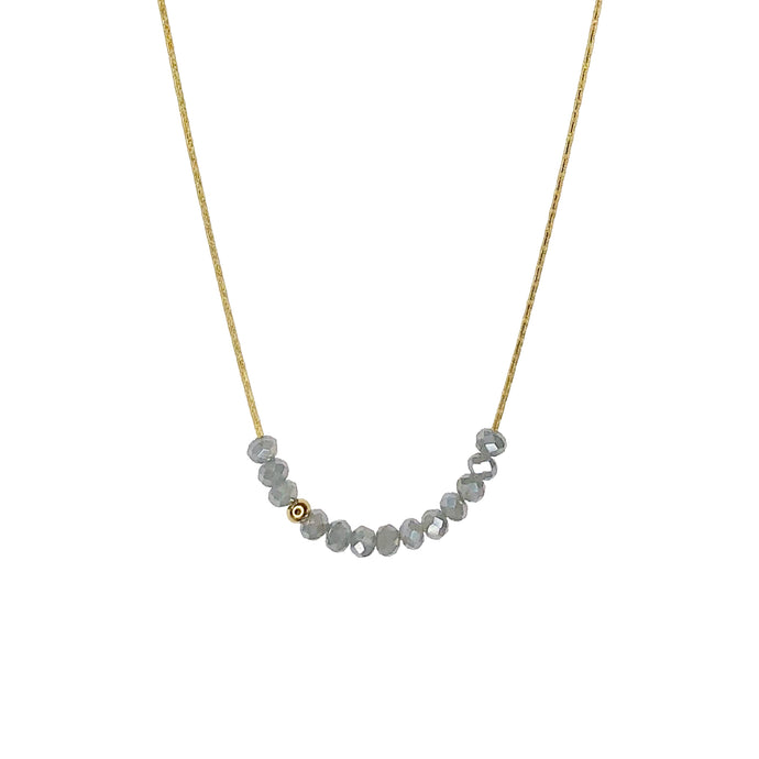 Sprinkle of Sophistication Necklace- Silver