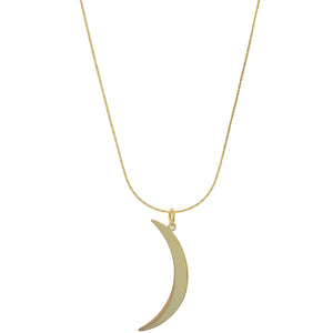 Crescent Moon ~ Salty Pendants