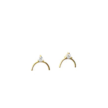 Load image into Gallery viewer, Crescent Light Earrings ~ Sweet