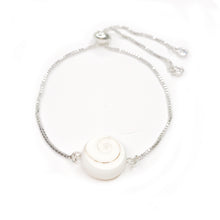 Load image into Gallery viewer, XL Shiva Shell Bolo Bracelet
