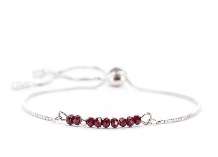 Sprinkle of Strength ~ Dark Red Bolo