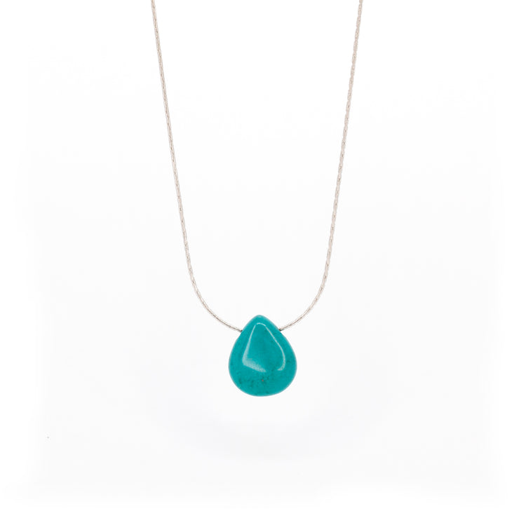 Protection Stone ~ Turquoise Tear Drop