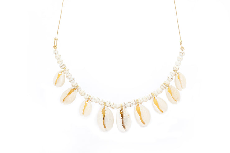 Well Cay Puka Choker ~ Salty Shells