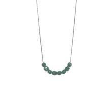 Load image into Gallery viewer, Glimmer Emerald Necklace