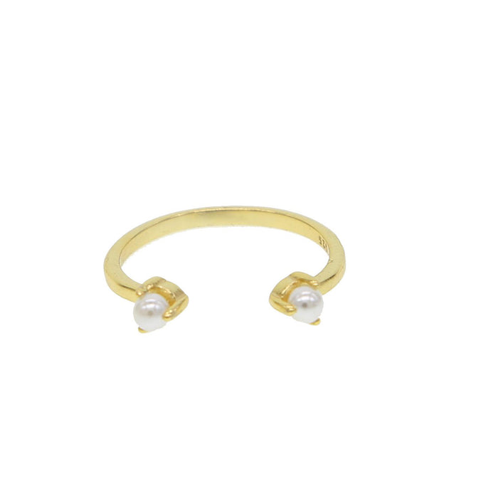 Double Pearl Ring ~ Sweet